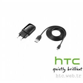 HTC Wildfire Şarj Adaptörü + Data Kablo