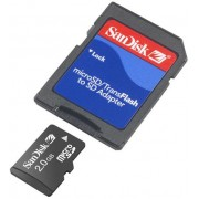 Sandisk MicroSD 2GB Secure Dijital Kart