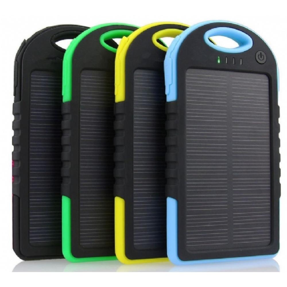 5000 mAh Güneş Enerjili Taşınabilir Şarj Aleti