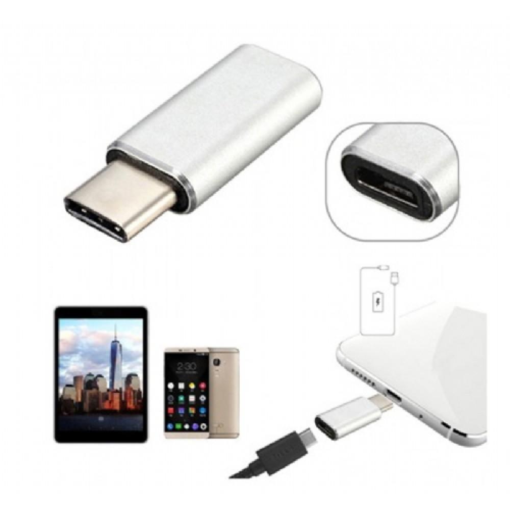 Micro USB - Type C Dönüştürücü